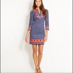 Vineyard Vines Border Print Nautical Tunic Dress